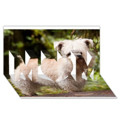 Glen Of Imaal Full wheaton MOM 3D Greeting Card (8x4)