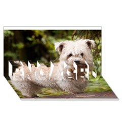 Glen Of Imaal Full wheaton ENGAGED 3D Greeting Card (8x4)