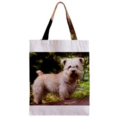 Glen Of Imaal Full Wheaton Zipper Classic Tote Bags