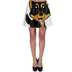 Lancashire Heeler Cartoon Skater Skirts