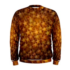 Gold Stars Men s Sweatshirts