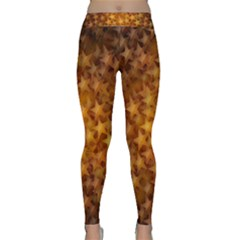 Gold Stars Yoga Leggings
