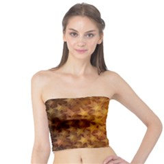 Gold Stars Women s Tube Tops