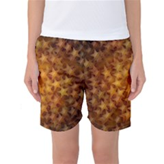Gold Stars Women s Basketball Shorts