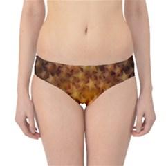 Gold Stars Hipster Bikini Bottoms
