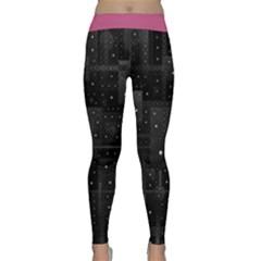 Black Stars  Yoga Leggings
