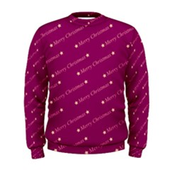 Merry Christmas,text,bordeaux Men s Sweatshirts