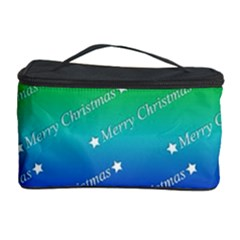 Merry Christmas,text,rainbow Cosmetic Storage Cases