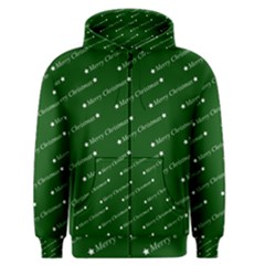 Merry Christmas,text,green Men s Zipper Hoodies