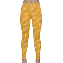 Many Stars, Golden Yoga Leggings