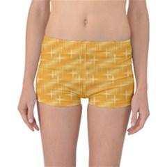 Many Stars, Golden Reversible Boyleg Bikini Bottoms