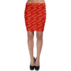 Many Stars,red Bodycon Skirts
