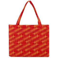 Many Stars,red Tiny Tote Bags