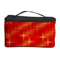 Many Stars,red Cosmetic Storage Cases