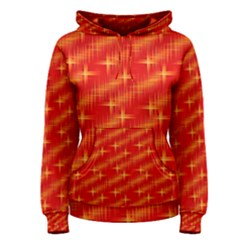 Many Stars,red Women s Pullover Hoodies
