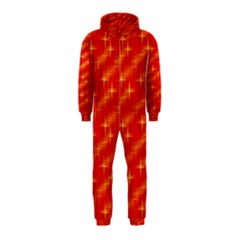 Many Stars,red Hooded Jumpsuit (Kids)