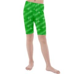 Many Stars, Neon Green Kid s swimwear