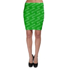 Many Stars, Neon Green Bodycon Skirts