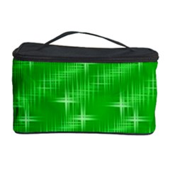 Many Stars, Neon Green Cosmetic Storage Cases