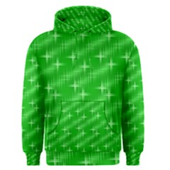 Many Stars, Neon Green Men s Pullover Hoodies
