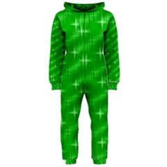 Many Stars, Neon Green Hooded Jumpsuit (Ladies)
