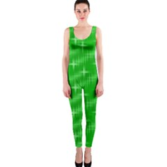 Many Stars, Neon Green OnePiece Catsuits