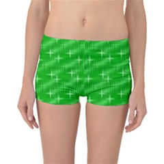 Many Stars, Neon Green Boyleg Bikini Bottoms