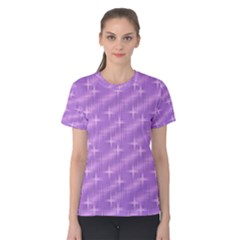 Many Stars, Lilac Women s Cotton Tees
