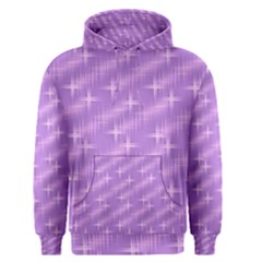 Many Stars, Lilac Men s Pullover Hoodies