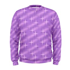 Many Stars, Lilac Men s Sweatshirts