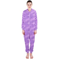 Many Stars, Lilac Hooded Jumpsuit (Ladies)