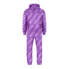 Many Stars, Lilac Hooded Jumpsuit (Kids)