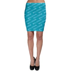 Many Stars,aqua Bodycon Skirts