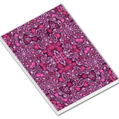 Crazy Beautiful Abstract  Large Memo Pads
