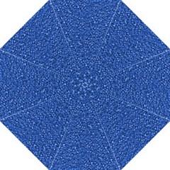 Sparkling Glitter Blue Hook Handle Umbrellas (large)