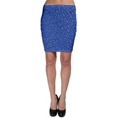 Sparkling Glitter Blue Bodycon Skirts