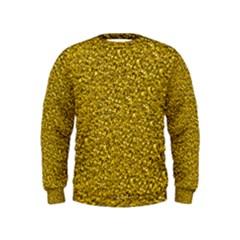 Sparkling Glitter Golden Boys  Sweatshirts