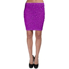 Sparkling Glitter Hot Pink Bodycon Skirts