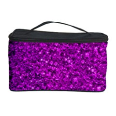 Sparkling Glitter Hot Pink Cosmetic Storage Cases