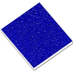 Sparkling Glitter Inky Blue Small Memo Pads