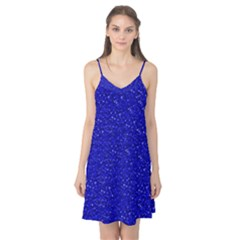 Sparkling Glitter Inky Blue Camis Nightgown