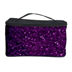 Sparkling Glitter Plum Cosmetic Storage Cases