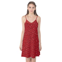 Sparkling Glitter Red Camis Nightgown