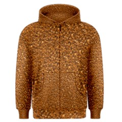 Sparkling Glitter Terra Men s Zipper Hoodies