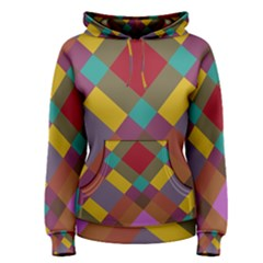 Shapes pattern Women s Pullover Hoodie