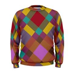 Shapes pattern  Men s Sweatshirt