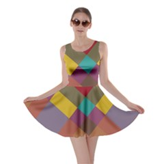 Shapes pattern Skater Dress