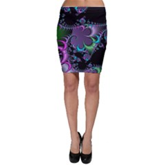 Fractal Dream Bodycon Skirts
