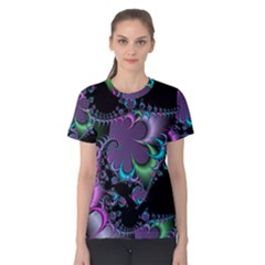 Fractal Dream Women s Cotton Tees