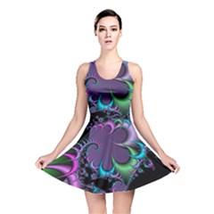 Fractal Dream Reversible Skater Dresses